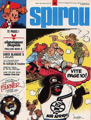 Le journal de Spirou 1862 - 1862
