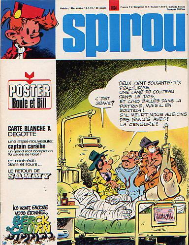 Le journal de Spirou 1864 - 1864
