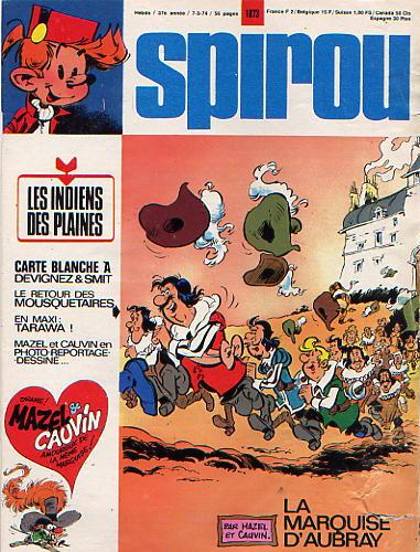 Le journal de Spirou 1873 - 1873