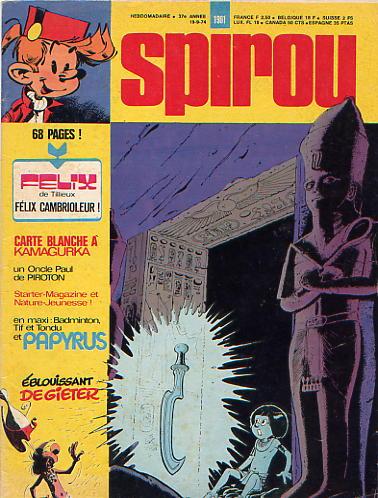 Le journal de Spirou 1901 - 1901