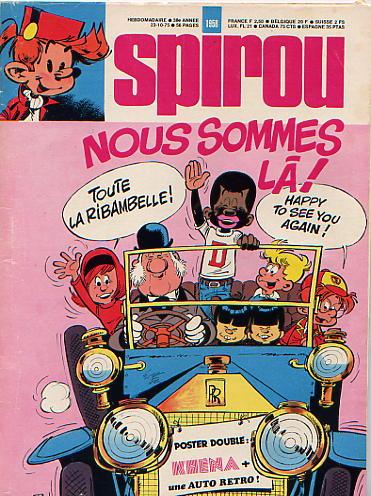 Le journal de Spirou 1958 - 1958