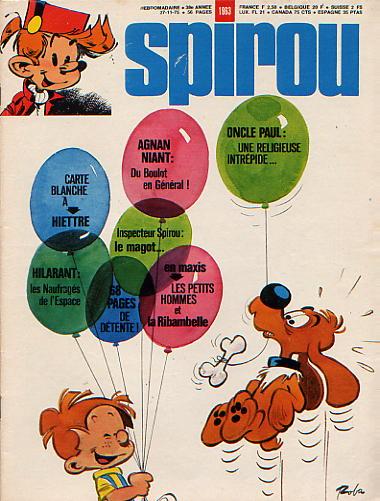 Le journal de Spirou 1963 - 1963