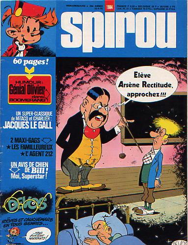 Le journal de Spirou 1984 - 1984