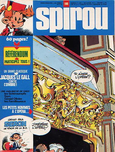 Le journal de Spirou 1985 - 1985