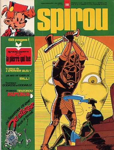 Le journal de Spirou 1989 - 1989