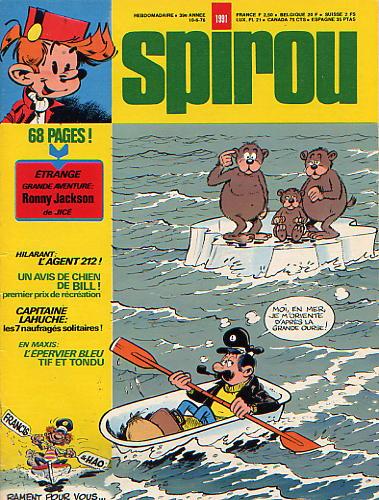 Le journal de Spirou 1991 - 1991
