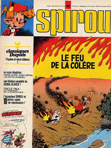 Le journal de Spirou 1822 - 1822