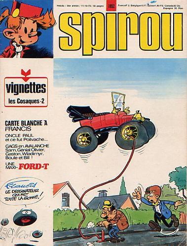 Le journal de Spirou 1852 - 1852