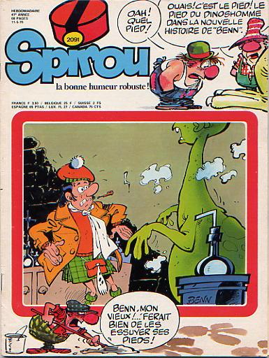 Le journal de Spirou 2091 - 2091