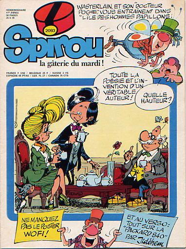 Le journal de Spirou 2093 - 2093