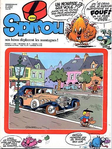 Le journal de Spirou 2096 - 2096