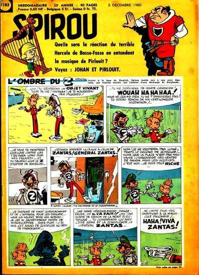 Le journal de Spirou 1182 - 1182