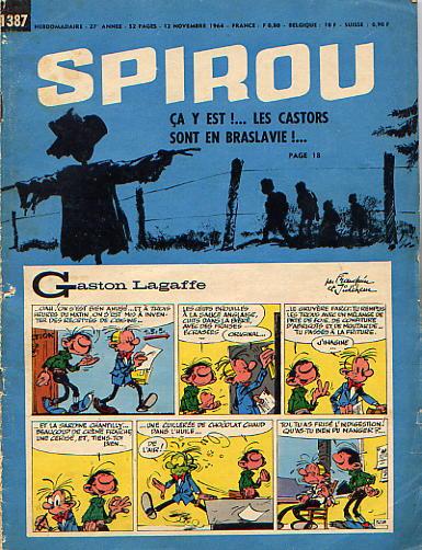 Le journal de Spirou 1387 - 1387