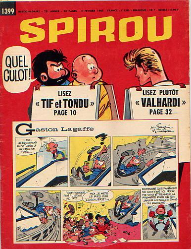 Le journal de Spirou 1399 - 1399