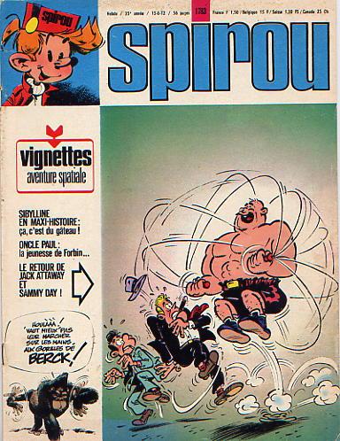 Le journal de Spirou 1783 - 1783
