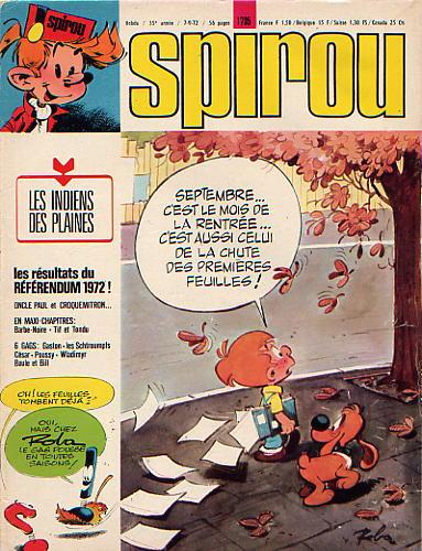 Le journal de Spirou 1795 - 1795