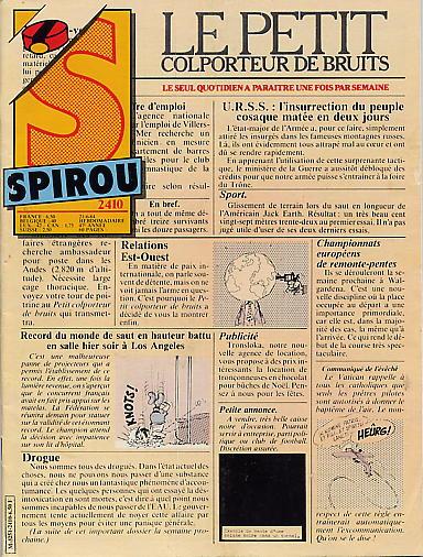 Le journal de Spirou 2410 - 2410