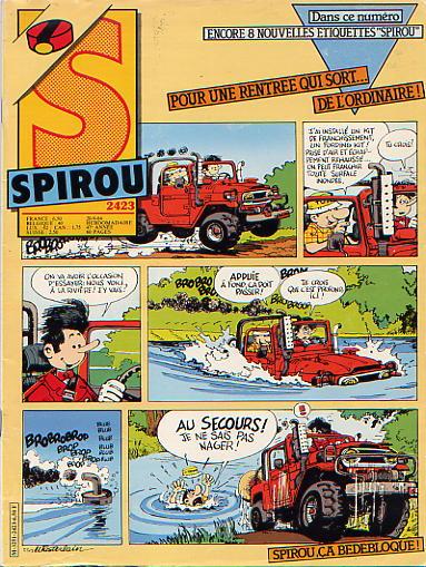 Le journal de Spirou 2423 - 2423