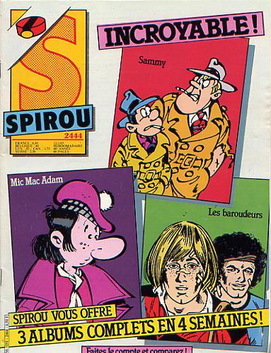 Le journal de Spirou 2444 - 2444