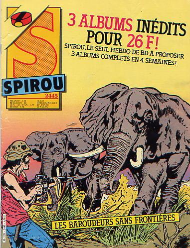 Le journal de Spirou 2445 - 2445
