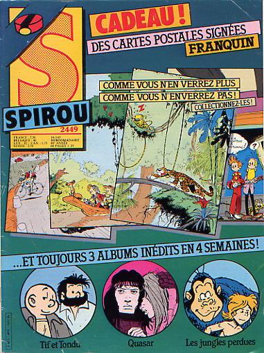 Le journal de Spirou 2449 - 2449
