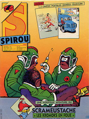 Le journal de Spirou 2468 - 2468
