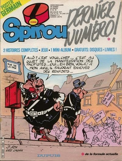 Le journal de Spirou 2269 - 2269
