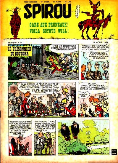 Le journal de Spirou 1061 - 1061