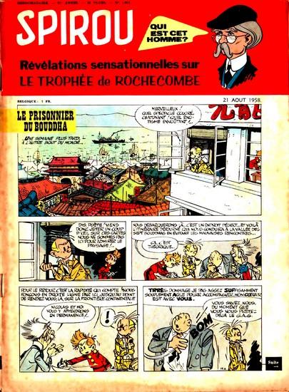 Le journal de Spirou 1062 - 1062