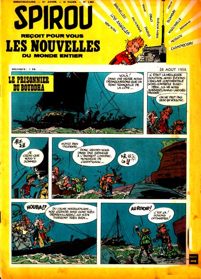 Le journal de Spirou 1063 - 1063