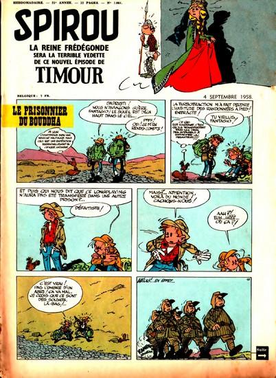 Le journal de Spirou 1064 - 1064