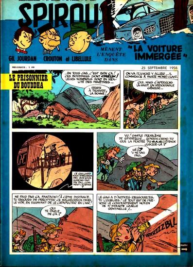 Le journal de Spirou 1067 - 1067