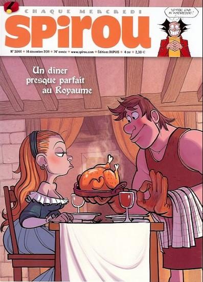 Le journal de Spirou 3844 - 3844