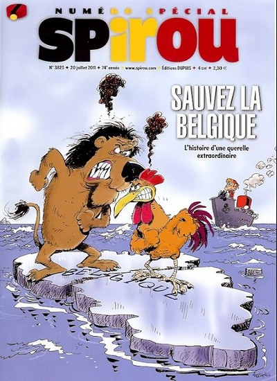 Le journal de Spirou 3823 - Sauvez la Belgique