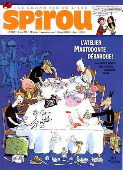 Le journal de Spirou 3825 - 3825