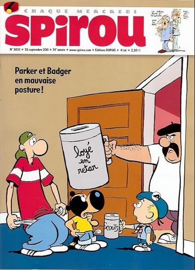Le journal de Spirou 3833 - 3833