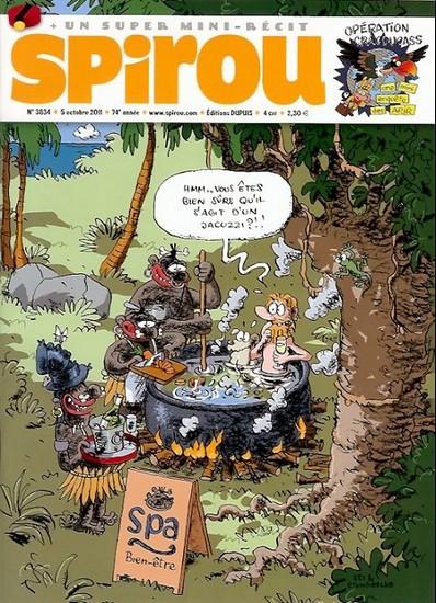 Le journal de Spirou 3834 - 3834