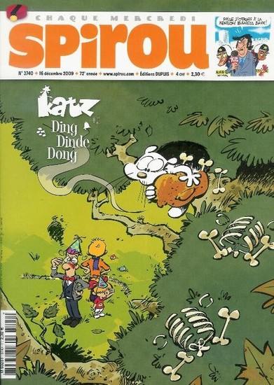 Le journal de Spirou 3740 - 3740