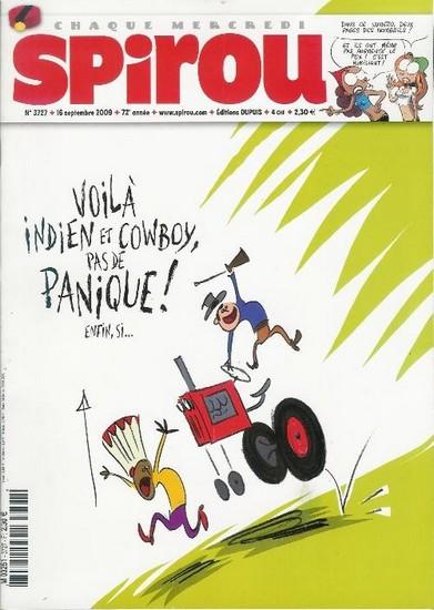 Le journal de Spirou 3727 - 3727