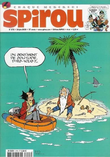Le journal de Spirou 3715 - 3715