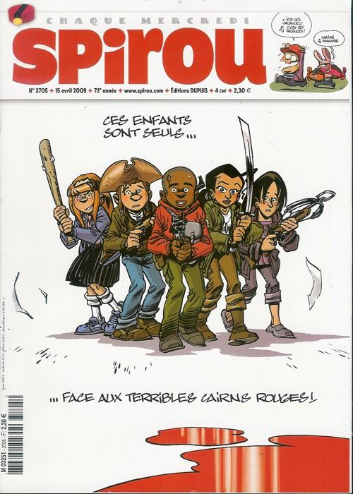 Le journal de Spirou 3705 - 3705
