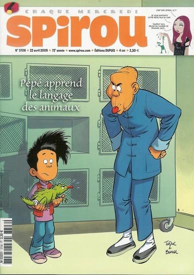 Le journal de Spirou 3706 - 3706