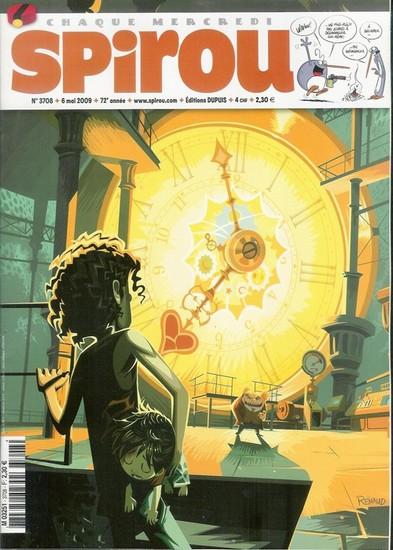 Le journal de Spirou 3708 - 3708