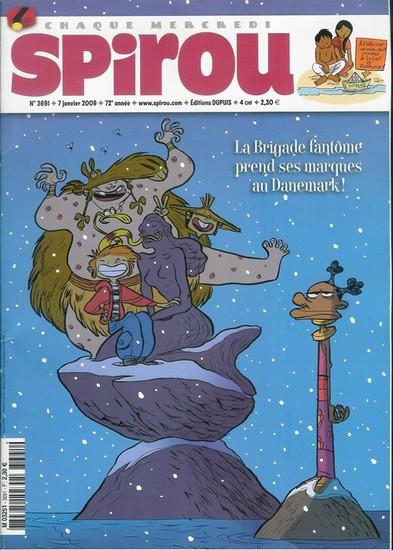 Le journal de Spirou 3691 - 3691