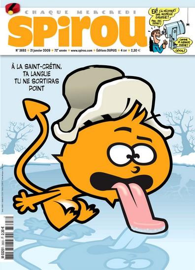 Le journal de Spirou 3693 - 3693