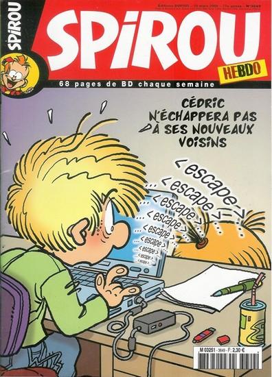 Le journal de Spirou 3649 - 3649