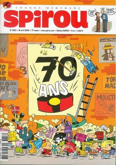 Le journal de Spirou 3653 - 70 ans