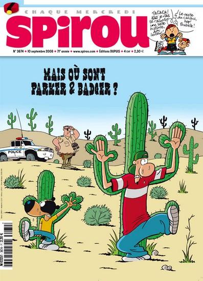 Le journal de Spirou 3674 - 3674