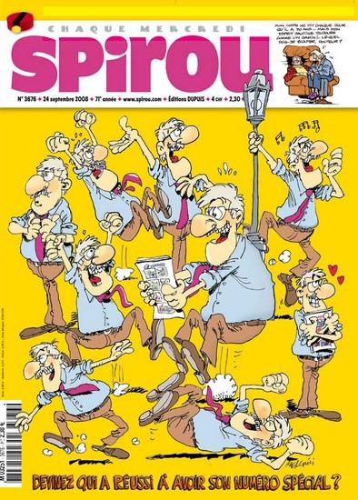 Le journal de Spirou 3676 - 3676