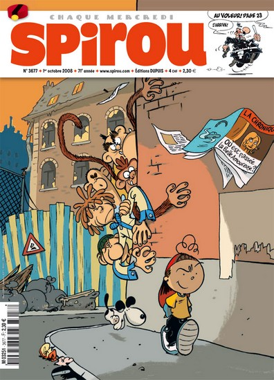 Le journal de Spirou 3677 - 3677